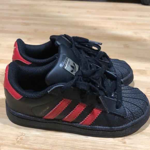 adidas Shoes   Adidas Superstar Black